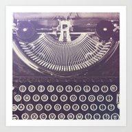 Art Print featuring Typewriter by Jessica Torres Photo…