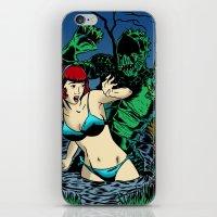 LAKE MONSTER iPhone & iPod Skin