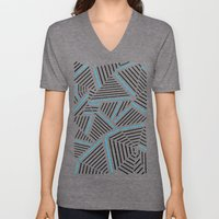 Ab Linear with Electric Unisex V-Neck