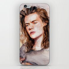 Harry Watercolors III iPhone & iPod Skin