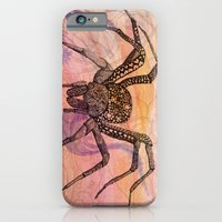 iPhone & iPod Case featuring Along Came a Spider by Catherine Holcombe