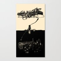 A Tale Of ∞ Cities Canvas Print