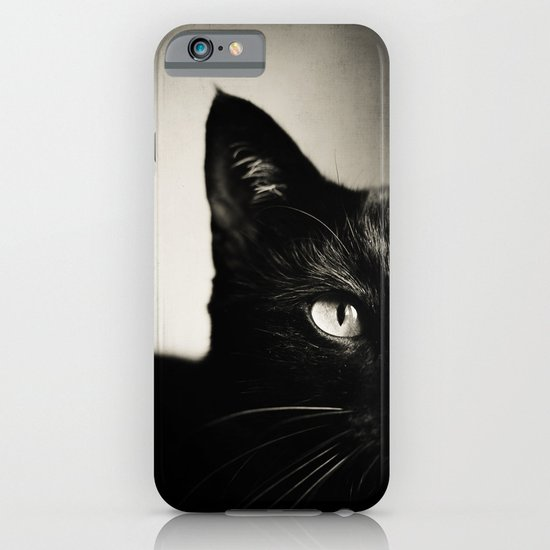 Black Cat iPhone & iPod Case