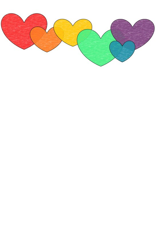 Love is a Rainbow Art Print
