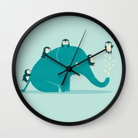 Waterslide Wall Clock