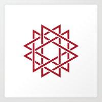 #382 Thorns – Geometry… Art Print
