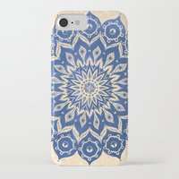 floral iPhone & iPod Cases featuring ókshirahm sky mandala by Peter Patrick Barreda