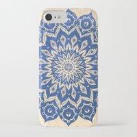 blue iPhone & iPod Cases featuring ókshirahm sky mandala by Peter Patrick Barreda