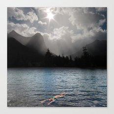 The Secret Room Where Dreams Prowl Canvas Print