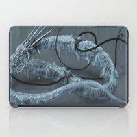 Mecha-Ice-Dragon iPad Case