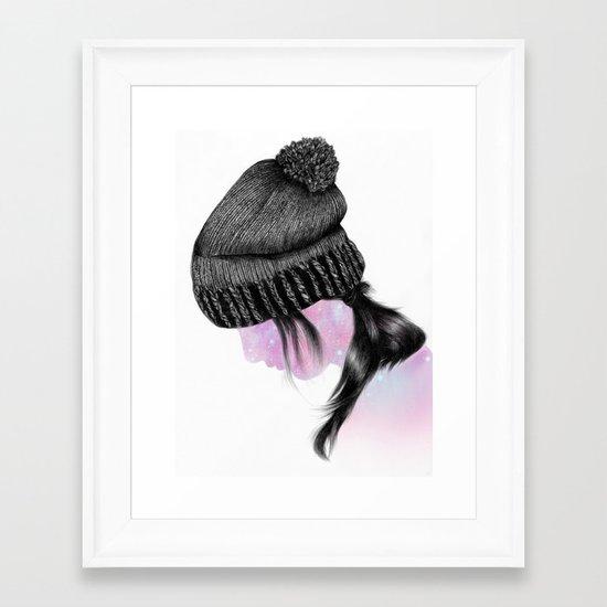 Fxxking Hipster II Framed Art Print