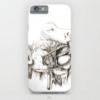 Anatomy: Study 1 Salivat… iPhone 6 Slim Case