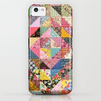 iPhone Cases featuring Grandma's Quilt by Rachel Caldwell