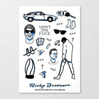 Risky Business  Canvas Print