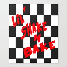 Lil' Shake and Bake Canvas Print