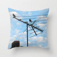 Birds Eye View! ~ Sky An… Throw Pillow