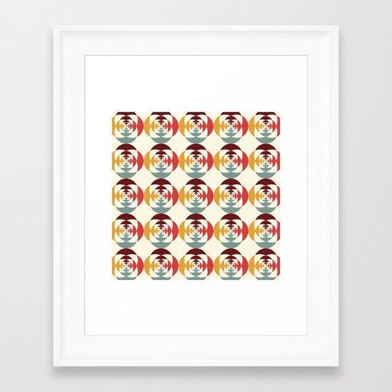 Good Vibratons [Blooms] Framed Art Print