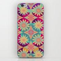 HAPPY FLOWERS iPhone & iPod Skin