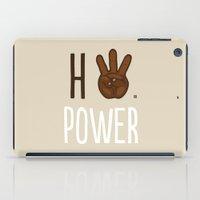 HiiiPower (w/text) : Chocolate iPad Case