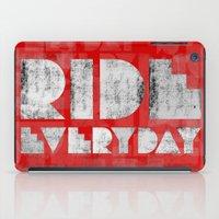 Ride Everyday  iPad Case