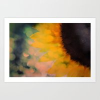Sunflower I (mini Series… Art Print