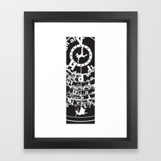 Bioshock Infinite The Circle Framed Art Print
