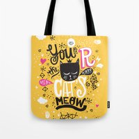 CAT'S MEOW Tote Bag