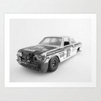 Wrecked Toy Car 02 - Alp… Art Print