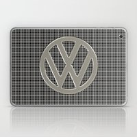 VW Silver Grill Laptop & iPad Skin
