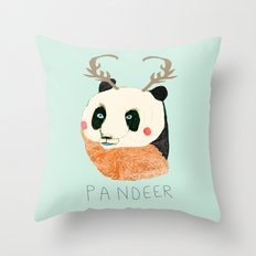 PANDEER :D Throw Pillow