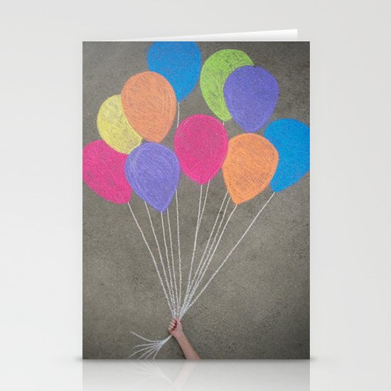 Up up and away Stationery Card