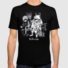 The Force Side SMALL Mens Fitted Tee Black