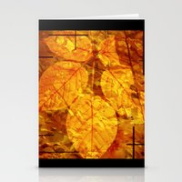 Autumn Memories In Orang… Stationery Cards