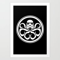 Hydra Trooper Art Print