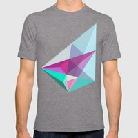 Elite  Mens Fitted Tee Tri-Grey SMALL