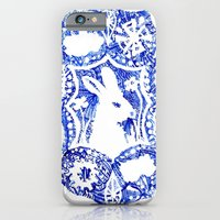 iPhone & iPod Case featuring Rabbit's Dream by Katy Betz