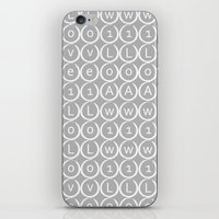 Love type iPhone & iPod Skin