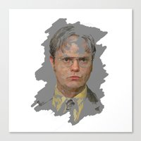 Dwight Schrute, The Office Canvas Print