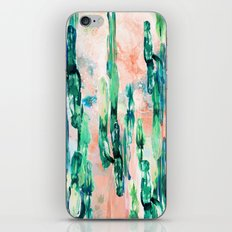 Sunset Cactus iPhone & iPod Skin