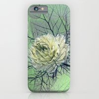 iPhone & iPod Case featuring love-in-a-mist by Jo.PinX