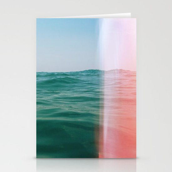 Whisper of Waves Stationery Card