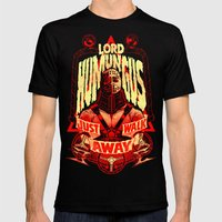 LORD HUMUNGUS: JUST WALK… Mens Fitted Tee Black SMALL