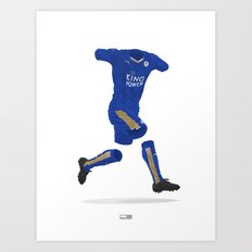 Leicester City 2015-16 - Premier League Champions Art Print