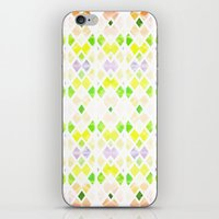 Pastel Geo iPhone & iPod Skin