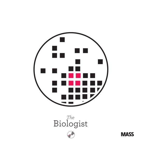 The Biologist Art Print