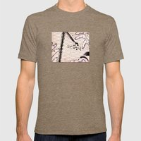 The Deadliest Joke Mens Fitted Tee Tri-Coffee SMALL
