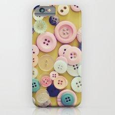 Vintage Buttons  iPhone 6 Slim Case