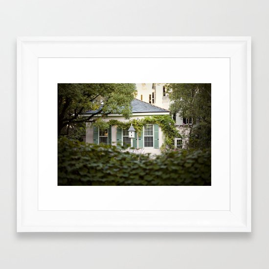glimpse::charleston Framed Art Print