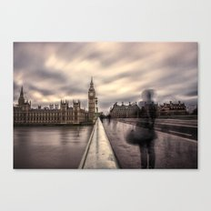 A Ghostly Figure Canvas Print