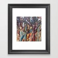 Color Texture History 2 Framed Art Print